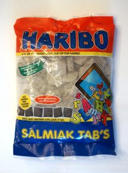 Haribo Salmiak Tabs