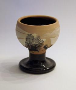 Tan Tree Egg Cup