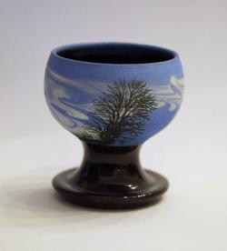 Blue Tree Egg Cup