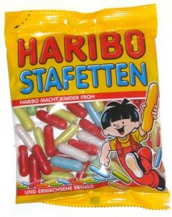 Haribo Stafetten Licorice