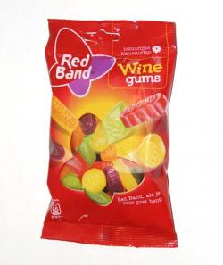 Red Band Winegums-166g bag