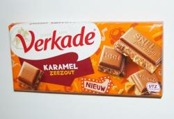 Verkade Caramel & Sea Salt Chocolate Bar