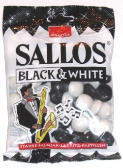Villosa Sallos Black and White Licorice