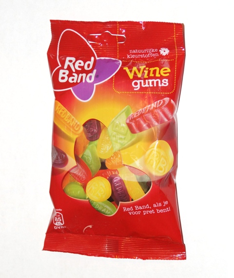 Red Band Winegums-155g bag