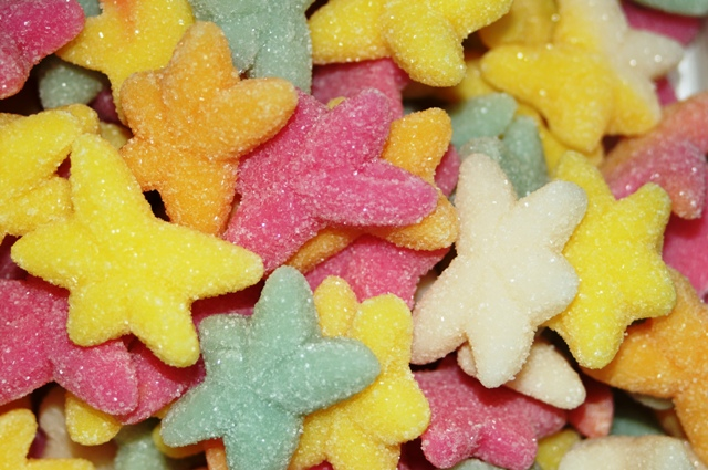 1000g Fruit Mix Gummy Starfish