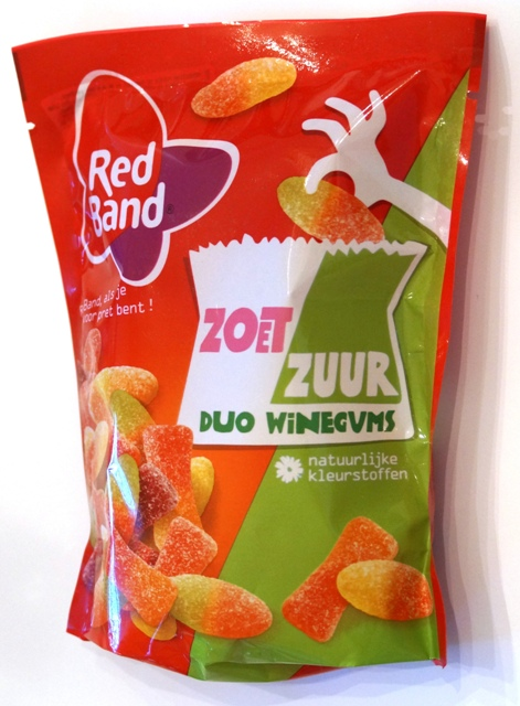 Red Band Duo Winegums Zoet Zuur