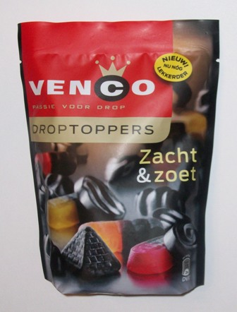 Droptoppers by Venco- Zacht & Zoet