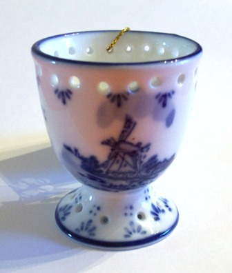 Egg Cup with Windmill