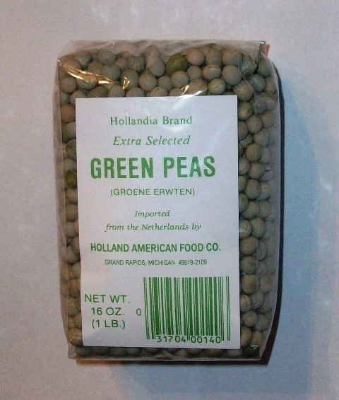 Dutch Dried Green Peas