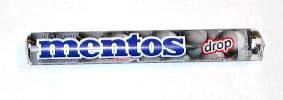 Mentos Licorice Drop- 5 roll pack