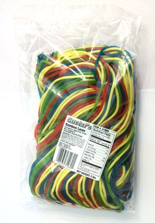 Gustaf\'s Rainbow Laces (Rainbow Veters - 2 lbs.)