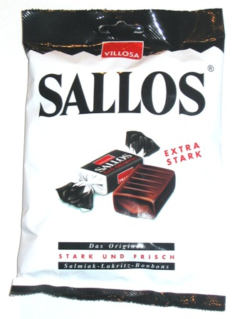 Villosa Sallos Original Licorice