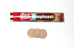 Red Band Stophoest- single roll