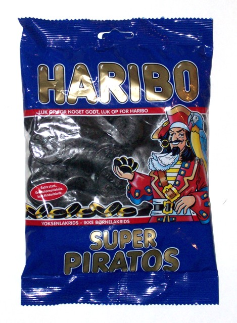 Haribo Super Piratos- 340g