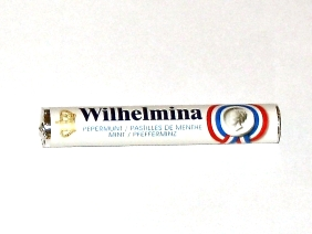 Wilhelmina Peppermint Roll - Single Roll